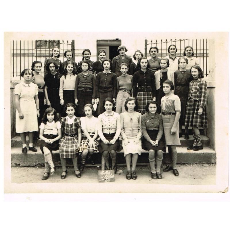 PHOTO DE CLASSE DE 5ème - COLLEGE D'ANTIBES