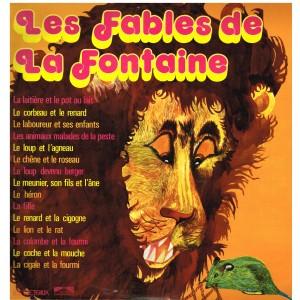 DISQUE 33 TOURS - LES FABLES DE LA FONTAINE