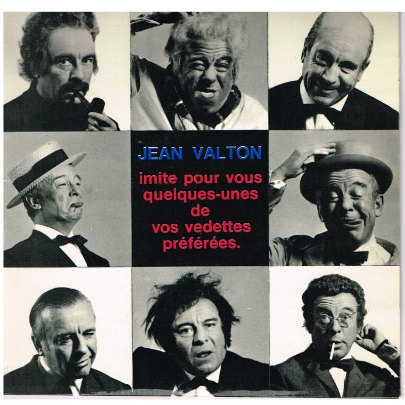 DISQUE 45 TOURS PUBLICITAIRE : IMITATIONS DE JEAN VALTON