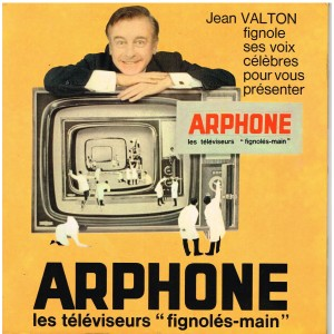 DISQUE 45 TOURS 17 CM JEAN VALTON PRESENTE ARPHONE