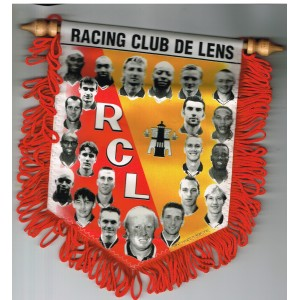 FANION GRAND FORMAT  RACING CLUB DE LENS