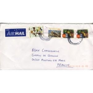 souimanga-a-ventre-jaune-et-kookaburra-sur-timbres-d-australie