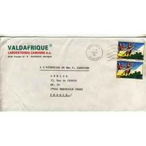flamants-roses-sur-timbres-sur-lettre-du-senegal