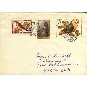 marmotte-oiseau-chanteur-et-oiseau-defenseur-des-forets-sur-timbres-sur-lettre-d-urss