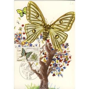 papillon-graellsia-isabellae-timbre-et-obliteration-1er-jour