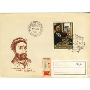 csontvary-kosztka-mihaly-tivadar-timbre-et-obliteration-1er-jour-de-hongrie
