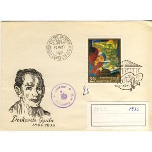 derkovits-gyula-timbre-et-obliteration-1er-jour-de-hongrie