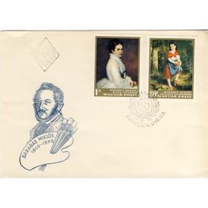 barabas-miklos-timbres-et-obliteration-1er-jour-de-hongrie
