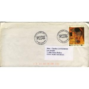 gustave-klimt-timbre-et-obliteration-1er-jour
