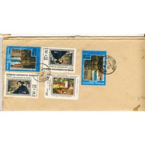 5-timbres-sur-lettre-gauguin-manet-de-gaulle-sur-lettre-de-madagascar