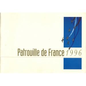 BROCHURE DE LA PATROUILLE DE FRANCE 1996