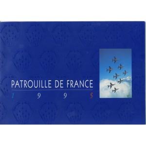 BROCHURE DE LA PATROUILLE DE FRANCE 1995