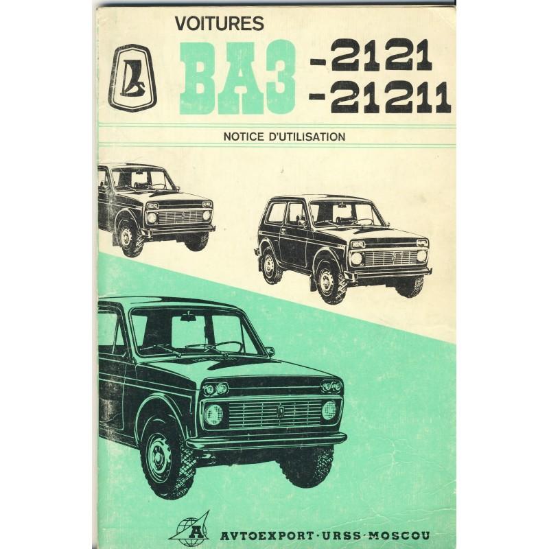 notice-d-utilisation-voiture-ba3-2121-21211