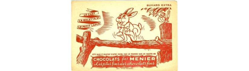 BUVARDS CHOCOLAT
