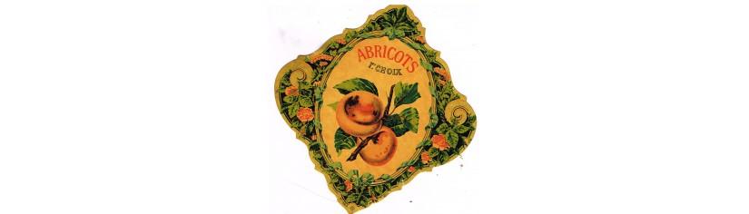 ETIQUETTES DE BOISSONS AUX FRUITS