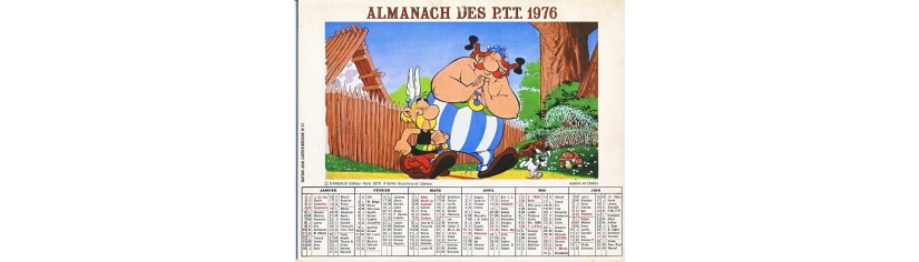 CALENDRIERS BD - TV