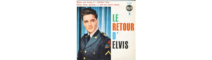DISQUES 45 TOURS PRESLEY ELVIS