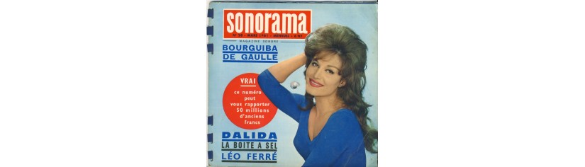 DISQUES SONORAMA